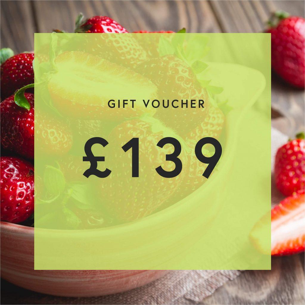 £139 Gift Voucher