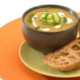 Spicy Courgette Soup