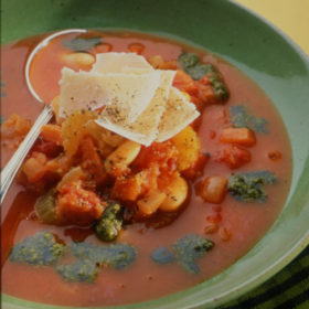 Pistou Soup – French Vegetable Soup with Basil Sauce