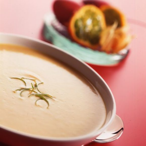 Sweet Potato and Coconut Cream Soup