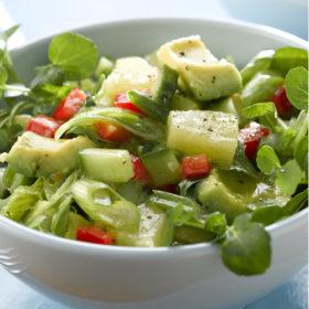 Avocado and Lime Salad