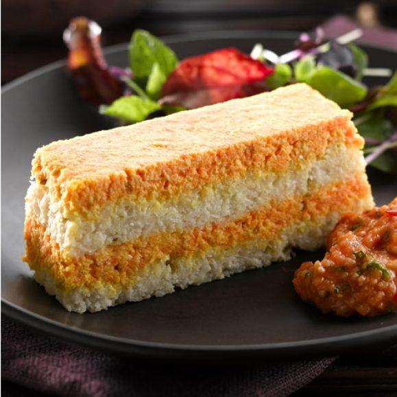 Thai-Inspired Cauliflower and Carrot Terrine