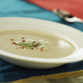 Jamaican Ginger & Coconut Soup