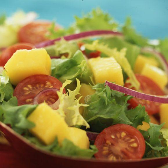 Mango and Tomato Salad