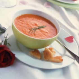 Roast Tomato and Rosemary Soup