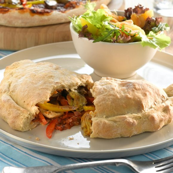 Slow Roasted Pepper Calzone