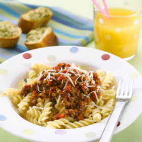 Bolognese sauce for perfect pasta