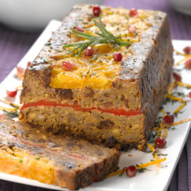 Festive Layered Loaf – Filled with Fruit and Hazelnuts
