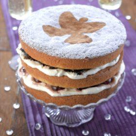 Snow Angel Cake