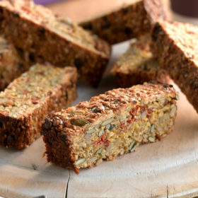 Berry Burst Breakfast Bars