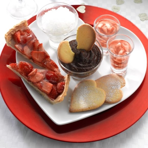 Pots of Love – Valentine's Day Dessert