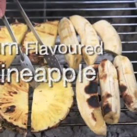 Rum Flavoured Pineapple