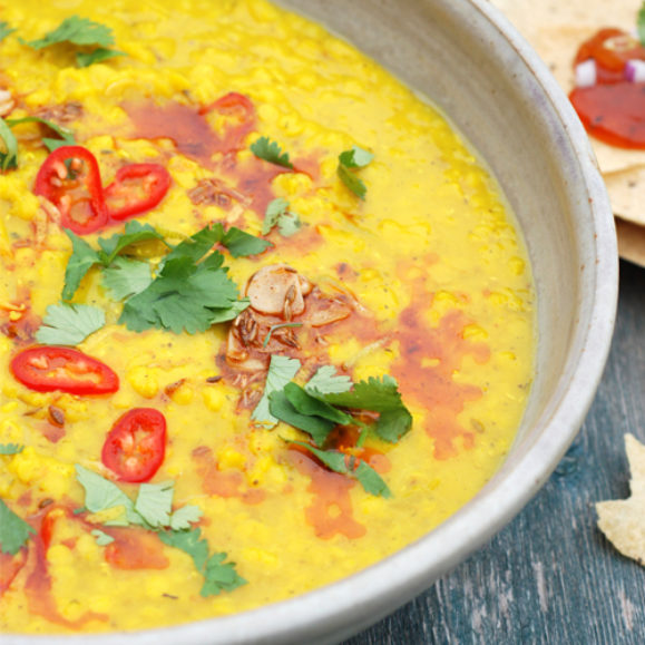 Lemon and Lime Dal