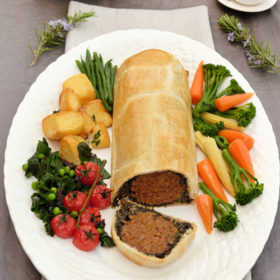 Chestnut and Butterbean Wellington
