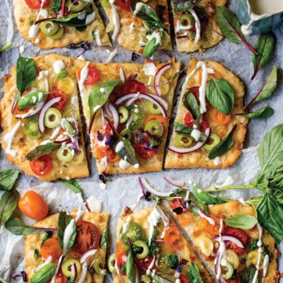 Summer Tomato Pizza