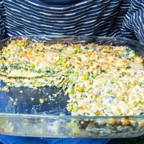 Super Green Veggie Lasagne