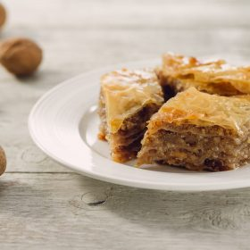 Baklava – Sweet Filo Pastry with Walnuts