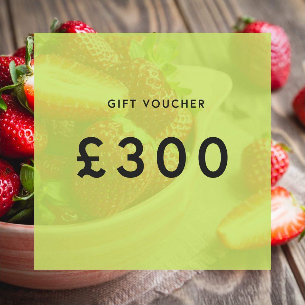 £300 Gift Voucher