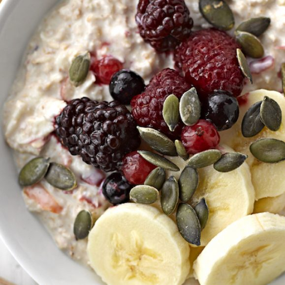 Bircher Muesli with Apple and Berries