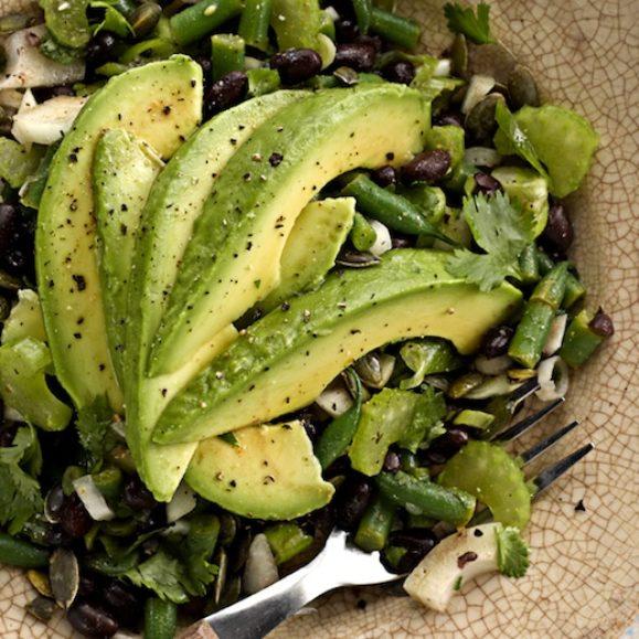 Black Bean and Avocado Salad