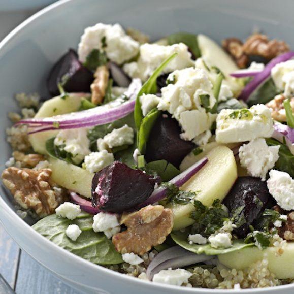 Roasted Beetroot, Feta and Apple Salad