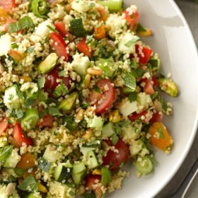 Nutty Tabbouleh Salad