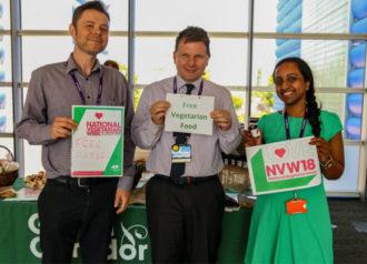 Grants for National Vegetarian Week