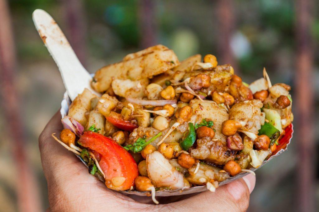Vegan Indian Street Fo...