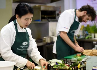 Vegetarian and vegan cookery courses