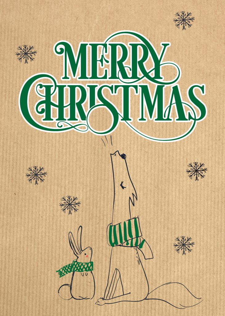 Christmas Cards – Singing Animals
