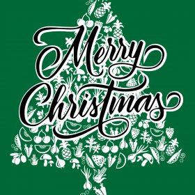 Christmas Cards – Veggie Tree