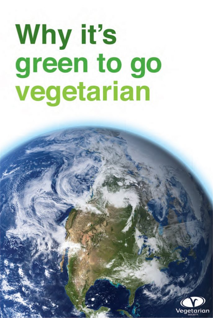 Why it's green to go vegetarian