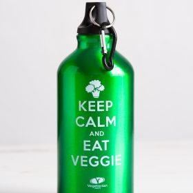 Keep Calm aluminium drinks bottle