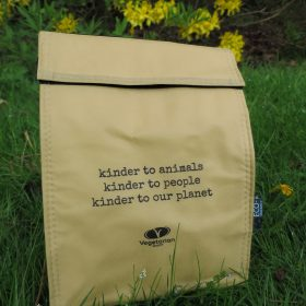 The Vegetarian Society insulated lunch bag