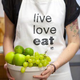Live Love Eat Apron