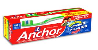 Anchor White Fluoride toothpaste