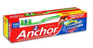 Anchor White Fluoride toothpaste