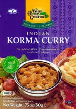 Spice Paste for Indian Korma Curry