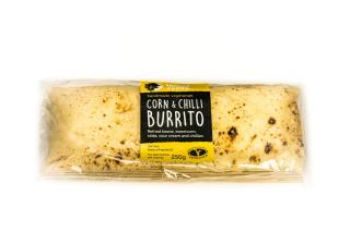 Wraps: Corn and Chilli Burrito