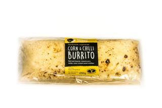 Wraps: Corn and Chilli Burrito