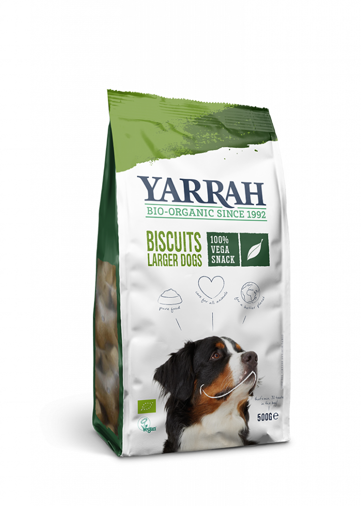Organic Vegetarian Dog Biscuits – Larger Dogs
