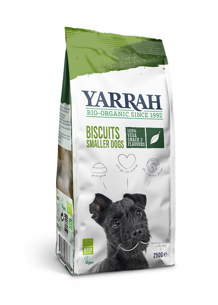 Organic Vegetarian Dog Biscuits – Smaller Dogs