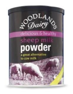 Skimmed Sheep's Milk Powder – 500g re-sealable canister.