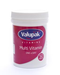 Valupak Vitamins Multivitamin OAD Tablets