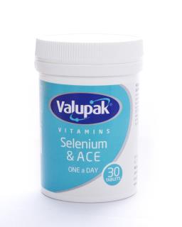 Valupak Vitamins Selenium A, C & E Tablets