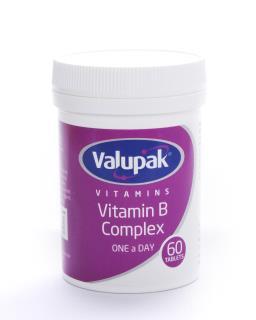 Valupak Vitamins Vitamin B Complex Tablets