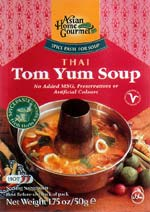 Spice Paste for Thai Tom Yum Soup
