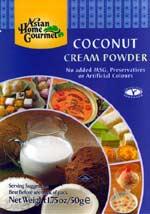 Powder Mix for Coconut Cream