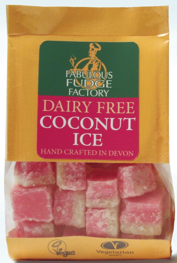 Dairy Free Coconut Ice