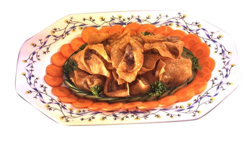 Vegetarian Wan Tan